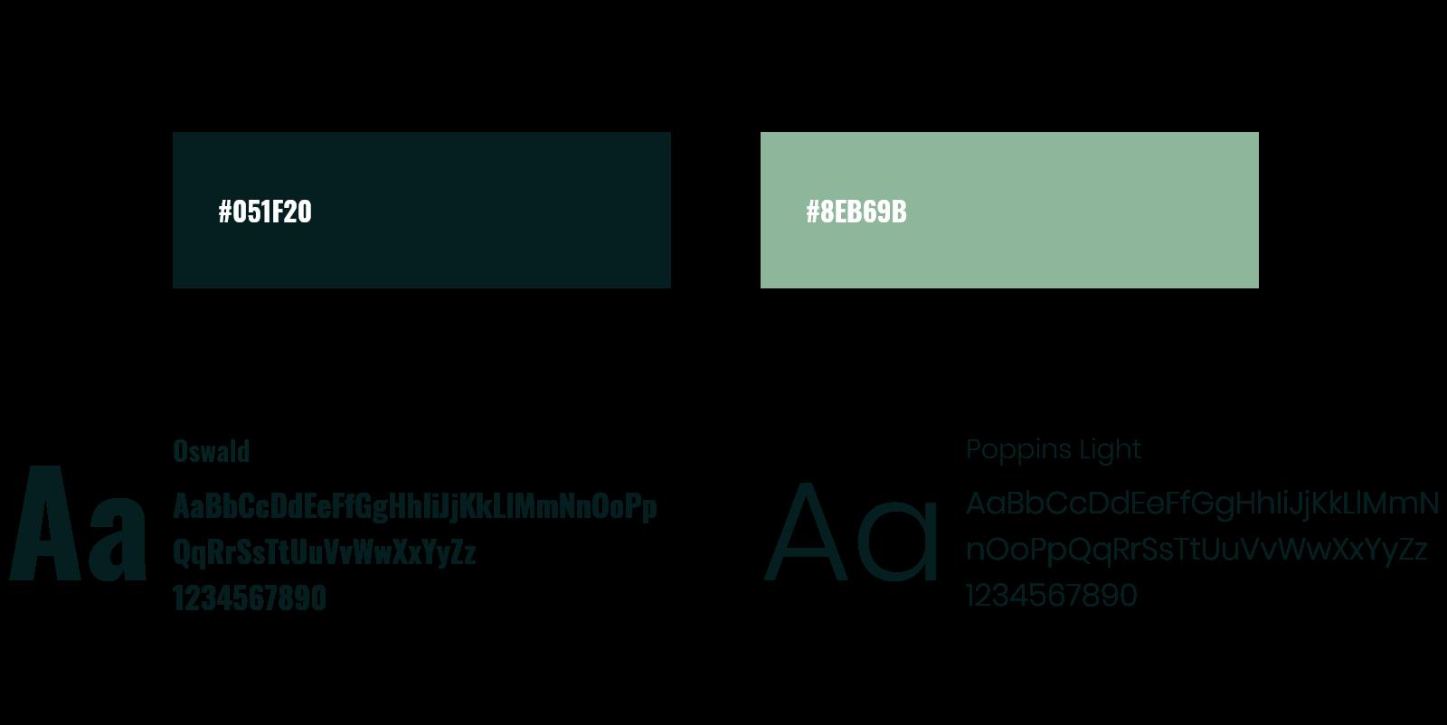 masaza centar color typography