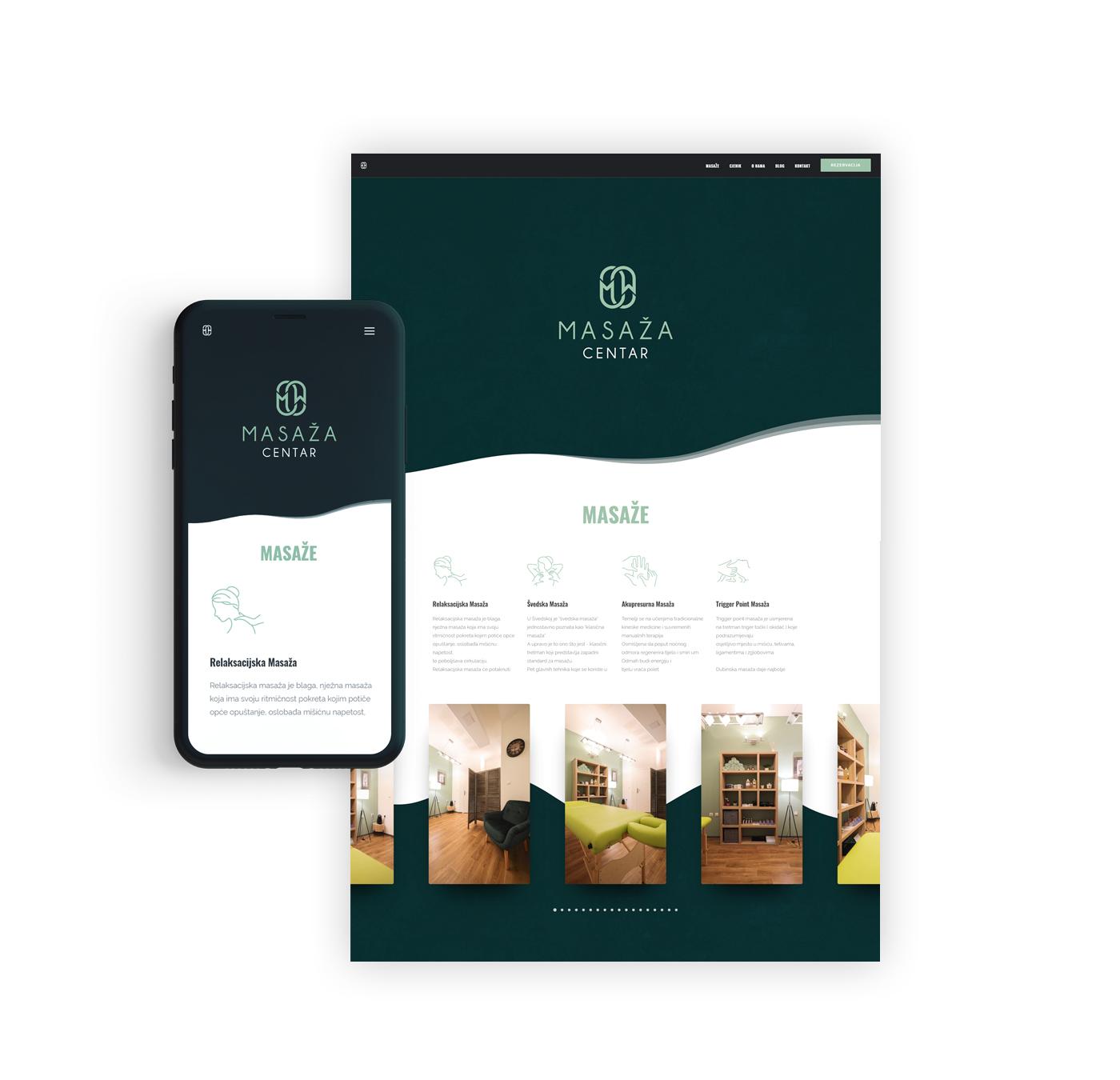 masaza centar web mobile