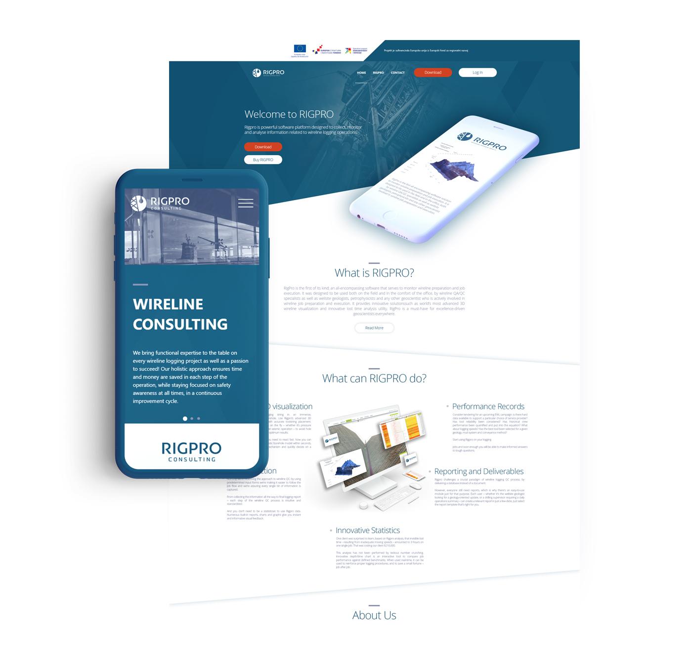 rigpro mobile web
