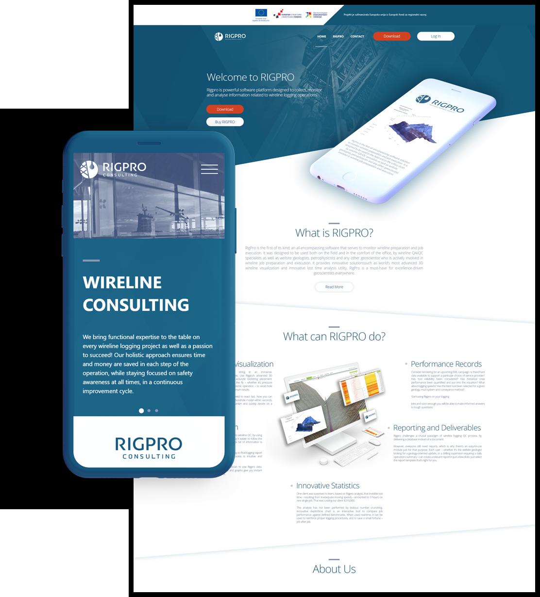 rigpro web mobile